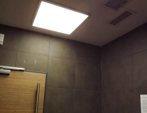 Praxisbeispiel: Geruchssanierung mit HG-Lights®  in Restauranttoilette